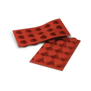 Stampo in silicone cilindri Petits Fours Silikomart SF027