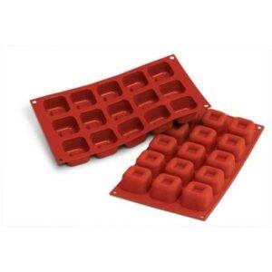 stampo silicone sf081 savarin quadrato 1