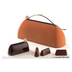Stampo in silicone gianduiotti Choco Gianduia SF125