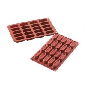 Stampo in silicone Mini dessert Oval Silikomart SF179