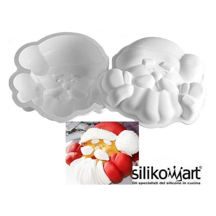 Stampo in silicone Santa Claus Silikomart SFT334