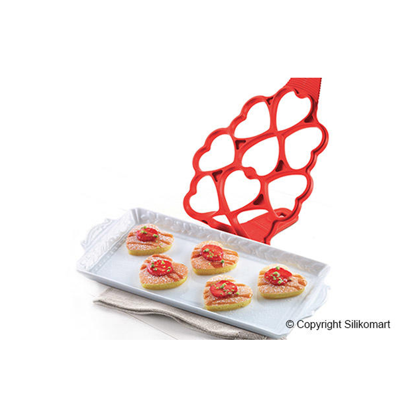 Stampo in silicone Happy Snack Love Silikomart PAN02