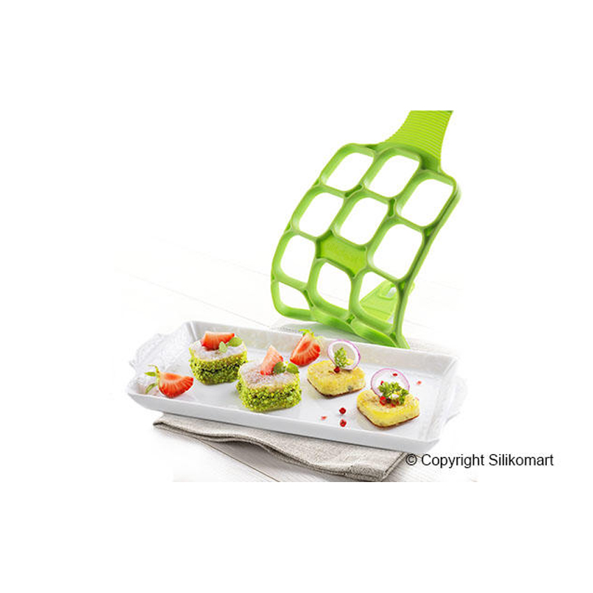 Stampo in silicone Happy Snack Square Silikomart PAN01