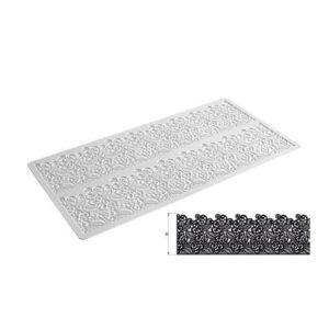 Tappeto in silicone per pizzi e merletti Tricot Baroc Silikomart TRD07