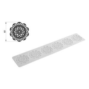Tappeto in silicone per pizzi e merletti Tricot Daisy Silikomart TRD01