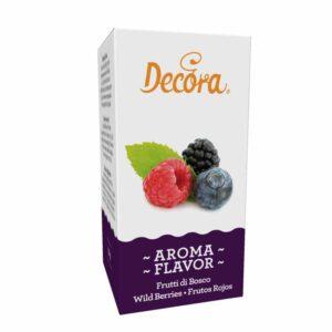 Aroma frutti di bosco Decora -50gr