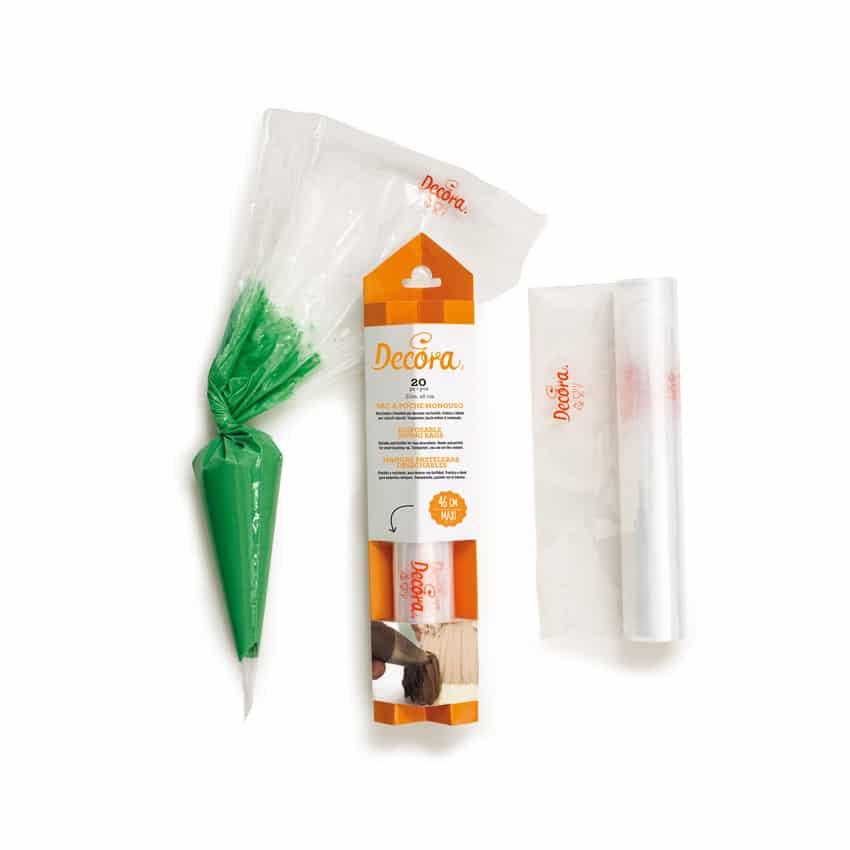 Confezione 20 sac a poche monouso 40 cm Decora