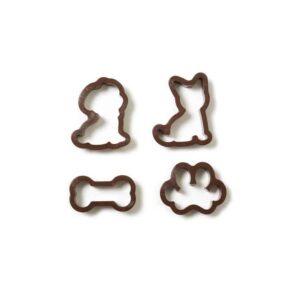 Kit 4 tagliapasta cane gatto osso zampa Decora