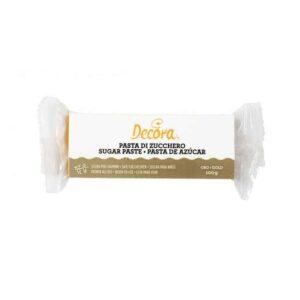 Pasta di zucchero oro Decora -100 gr