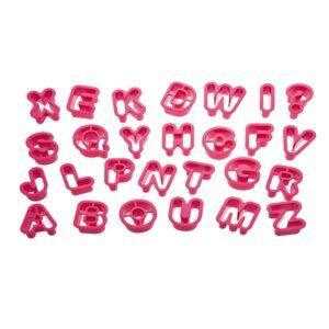 Set 27 tagliapasta lettere Decora