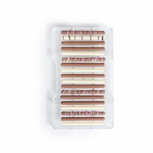 Stampo cioccolatino in policarbonato sigaro 18 cavità 8,5x0,5 cm Decora
