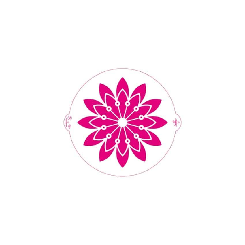 Stencil rosone Decora