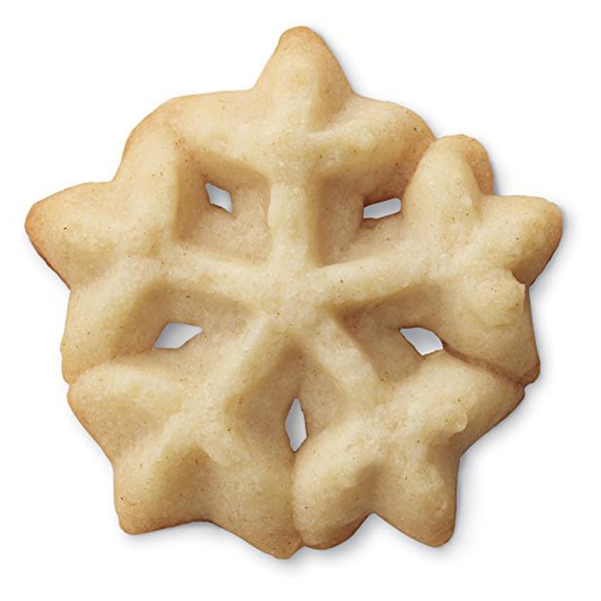 Trafila natalizia per biscotti fiocco di neve
