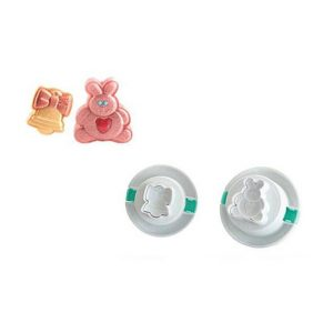 Set 2 Cutter Funny Easter Silikomart TAG12