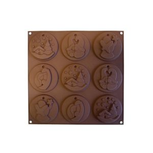 Stampo in silicone My Holiday Cookies Silikomart HSH09