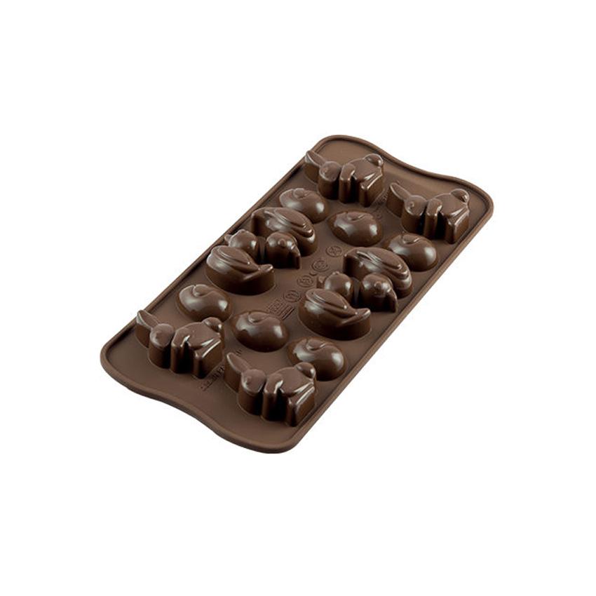 Stampo in silicone pasqua Easter Silicomart SCG05