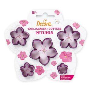 Kit 5 tagliapasta Petunia Decora