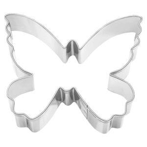 Stampino per biscotti in acciaio farfalla