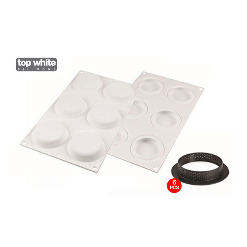 Stampo in silicone Kit Tarte Ring 80 Silikomart