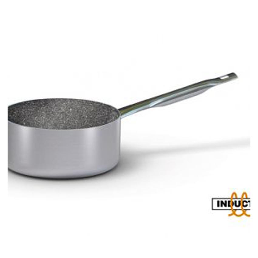 Casseruola media 1 manico induzione in alluminio antiaderente S2886