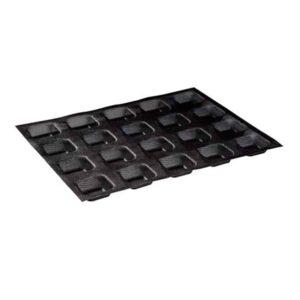 Stampi Microforati quadrati in Silicone 50x50 mm Martellato