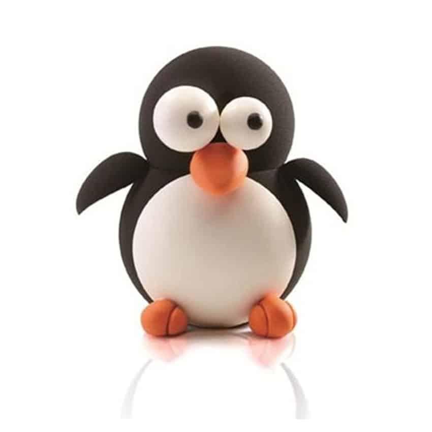 Stampo termoformato semisfere pinguino