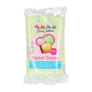 Pasta di zucchero verde pastello Funcakes 250 gr
