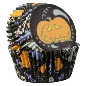 Pirottini di Halloween con zucca Wilton