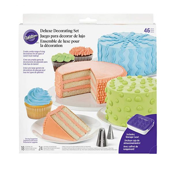 Set per decorare Wilton Deluxe 46 pz