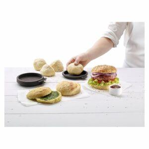 Stampo per pane da hamburger Lékué