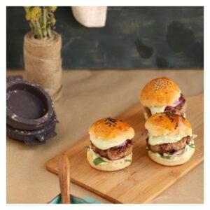 Stampo per pane da mini hamburger Lékué