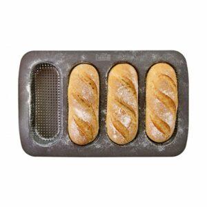 Teglia per mini baguettes antiaderente Birkmann