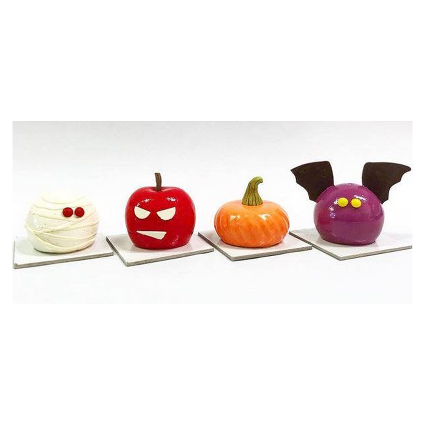 Monoporzioni di Halloween Silikomart Professional