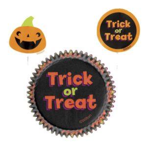 Pirottini Halloween con picks Zucca Wilton