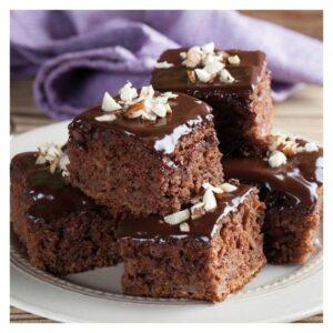 Preparato per Brownies senza glutine FunCakes
