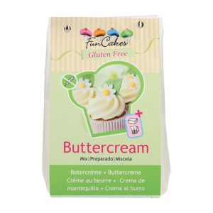Preparato per crema al burro senza glutine