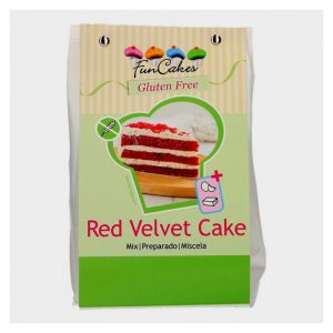 Preparato per Red Velvet senza glutine