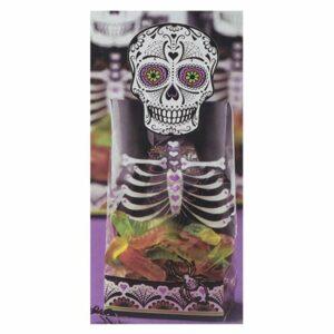 Sacchetti porta dolci con Teschio Halloween Wilton