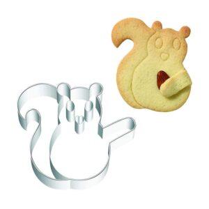 Stampino taglia biscotti scoiattolo Birkmann