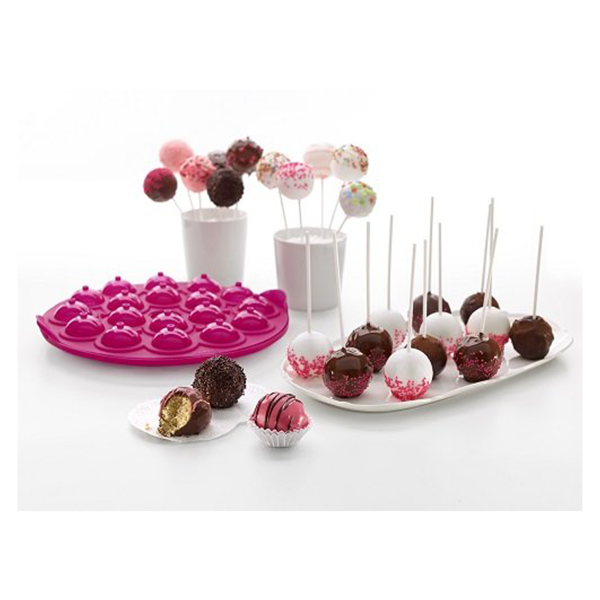 Stampo in silicone cake pops