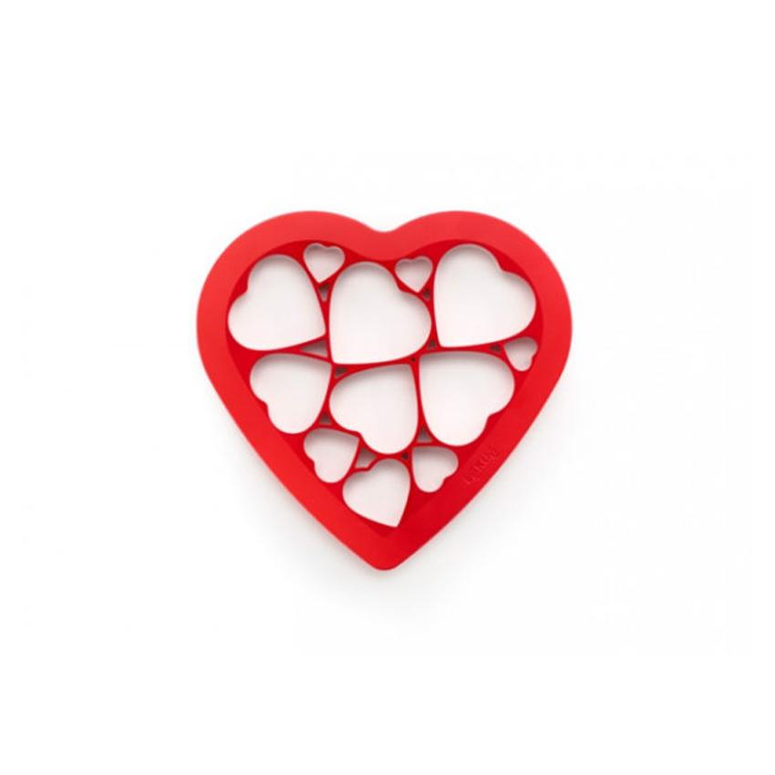 Taglia biscotti cuore 12 biscotti