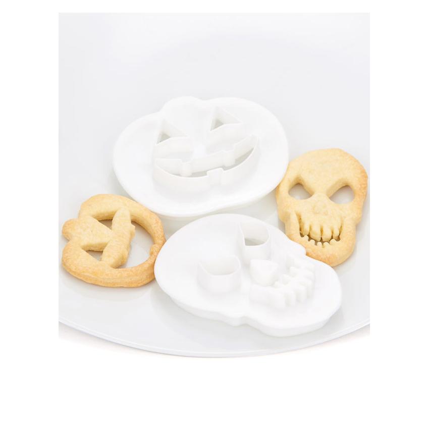 Tagliapasta multiuso teschio e zucca di Halloween Modecor