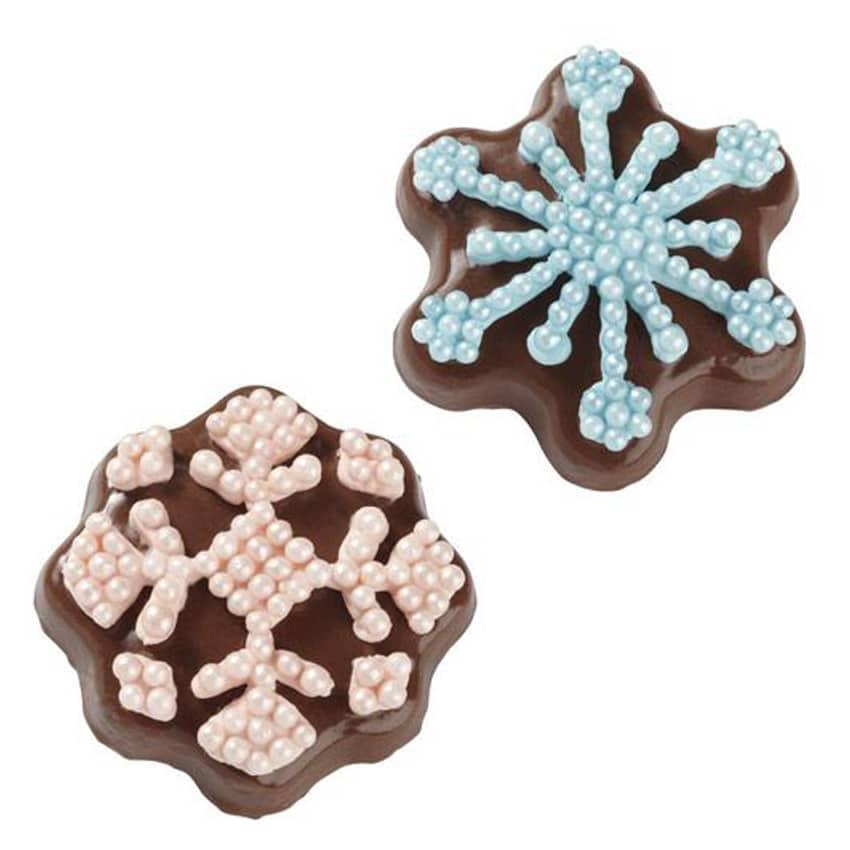 Stampo antiaderente Fiocchi di Neve biscotti