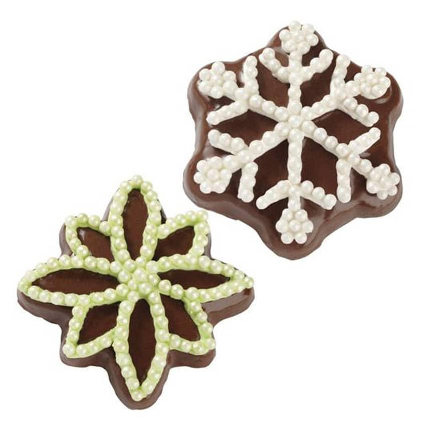 Stampo antiaderente Fiocchi di Neve Wilton biscotti
