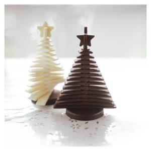 Stampo in silicone Albero di Cioccolato 3D Natale
