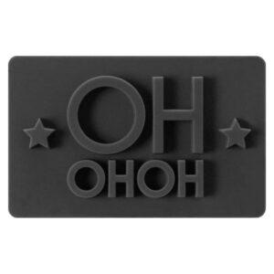 Timbro rettangolare HoHoHo per biscotti Birkmann