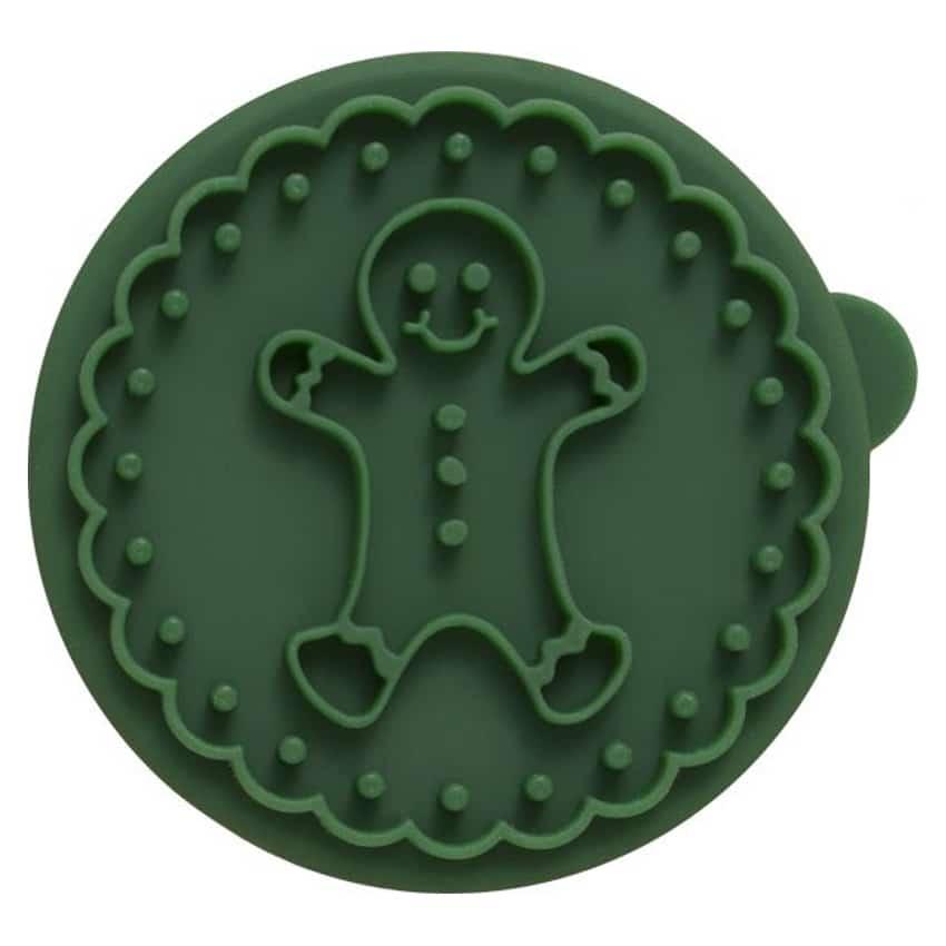 Timbro rotondo Gingerbread per biscotti Birkmann
