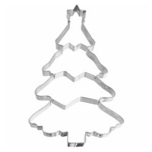 Tagliapasta albero di Natale inox Birkmann