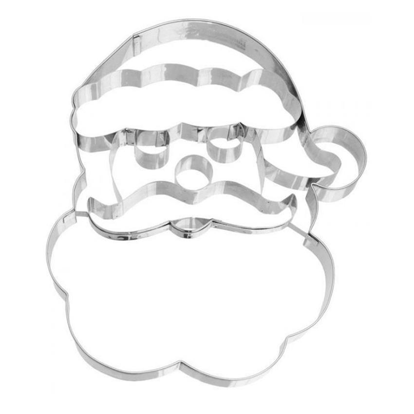 Tagliapasta Babbo Natale inox Birkmann