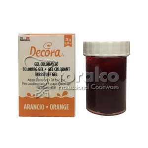 Colorante in gel Arancio Decora 28 g